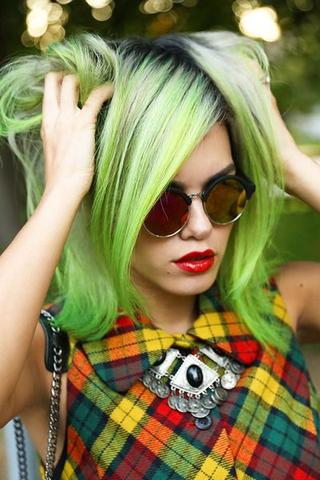 Slime-green-hair-color-salon-downtown-nyc